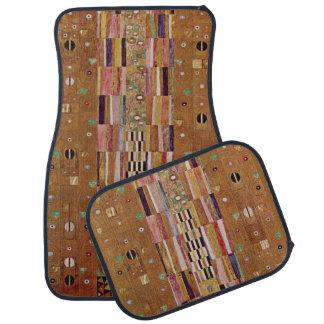 Extrémité de mur, frise de Stoclet, Klimt, motif Tapis De Sol