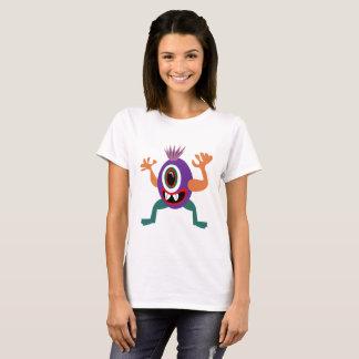 EyeZack le T-shirt de base de monstre étonnant