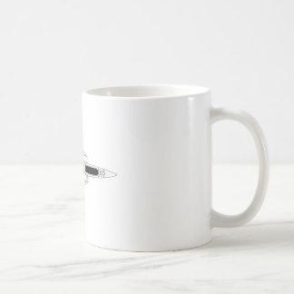 F14 Tomcat - dessus Mug
