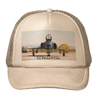 F-4 fantôme avec le parachute- frein, FANTÔME F4 Casquette