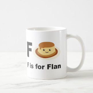 F est pour Flan Mug