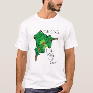 F.R.O.G. Comptez entièrement sur Dieu #1 T-shirt