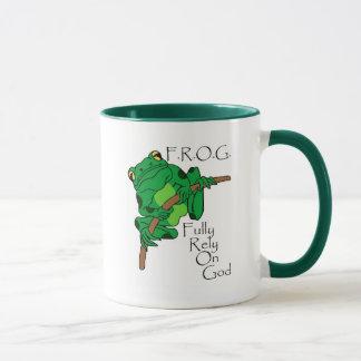 F.R.O.G. Comptez entièrement sur Dieu #1 Tasse