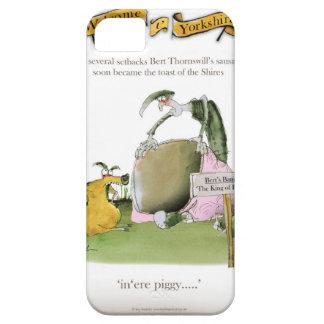 fabricant de saucisse de Yorkshire d'amour Étuis iPhone 5