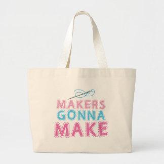 Fabricants allant faire avec l aiguille de couture sac