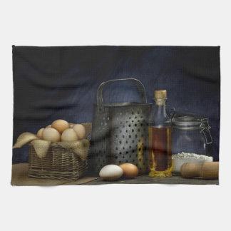 Fabrication de la serviette de cuisine de pâtes