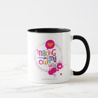 Fabrication de ma propre manière mug