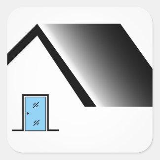 fabrication de porte sticker carré
