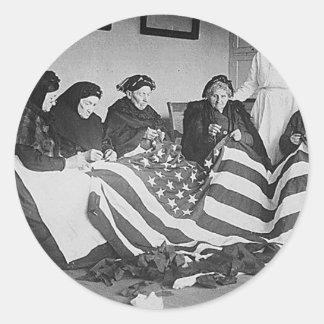 Fabrication du drapeau adhésifs