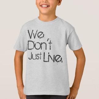 Fabrication d'une déclaration t-shirt