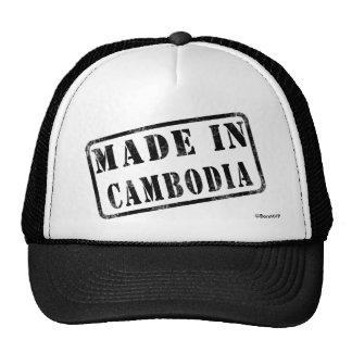 Fabriqué au Cambodge Casquette