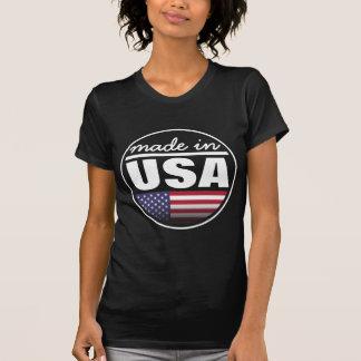"""Fabriqué… aux """"Etats-Unis """" T-shirt"""