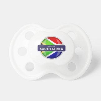 Fabriqué en Afrique du Sud Tétines