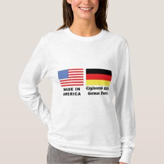 Fabriqué en Amérique avec les pièces allemandes T-shirt