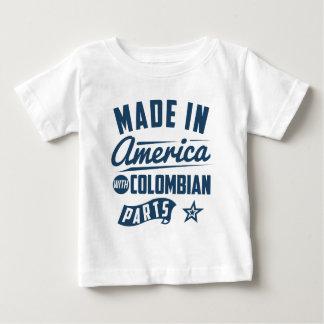 Fabriqué en Amérique avec les pièces colombiennes T-shirt Pour Bébé