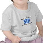 fabriqué en Amérique avec les pièces grecques T-shirts
