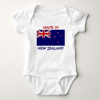 Fabriqué en Nouvelle Zélande avec le drapeau de la Body
