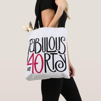Fabuleux à 40rty tout plus de - imprimez le sac