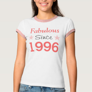 Fabulous Since 1996 T-shirt