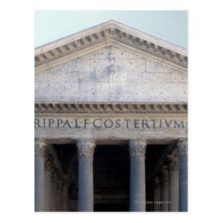 Façade du Panthéon à Rome, Italie Carte Postale