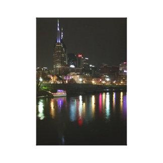 Façade d'une rivière de Nashville Toile