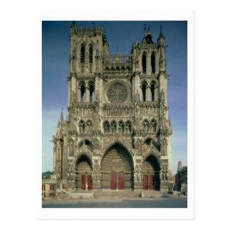 Façade occidentale, c.1220-70 (photo) (pour des cartes postales