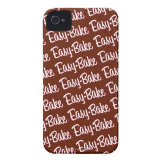 Facile-faites le logo cuire au four de four coques Case-Mate iPhone 4