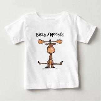 """Facilement A'Moose """" d T-shirt Pour Bébé"""