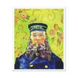 Facteur Joseph Roulin Vincent van Gogh de portrait Toile Tendue