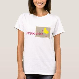 Faible T-shirt de Scrapbooking de poussin