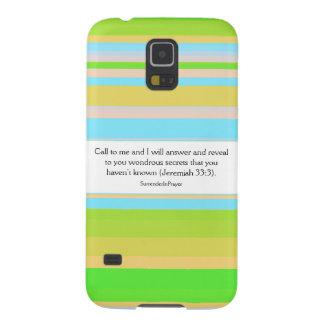 Faire appel à Dieu Coque Galaxy S5