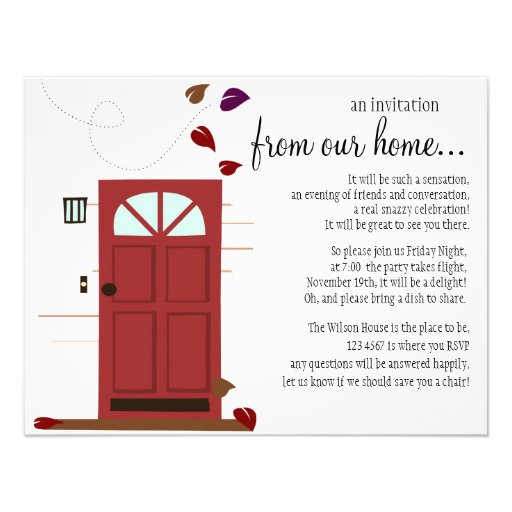 Faire bon accueil à des portes faire-parts