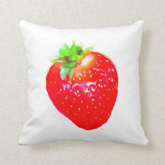 Faire bon accueil au coussin de fraise