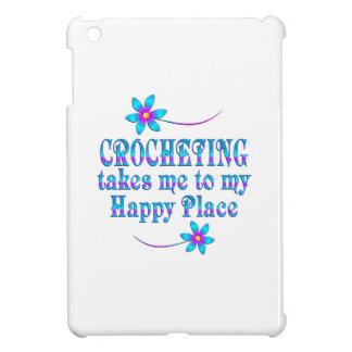 Faire du crochet mon endroit heureux coque iPad mini
