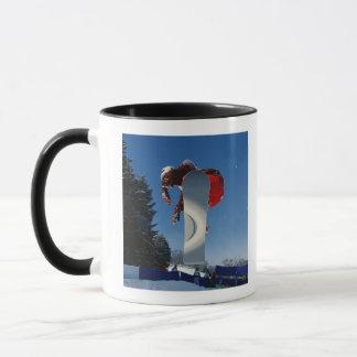Faire du surf des neiges 5 mug
