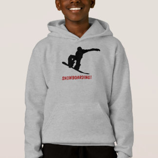 FAIRE DU SURF DES NEIGES ! Le sweat - shirt à