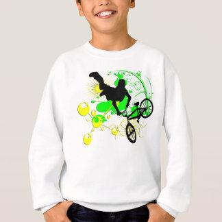 Faire du vélo extrême sweatshirt