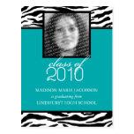 Faire-part 2010 fabuleux d'obtention du diplôme de cartes postales