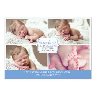 Faire-part de bébé/carte de remerciements