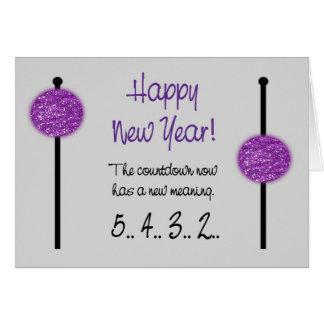 Faire-part de carte/grossesse de nouvelle année