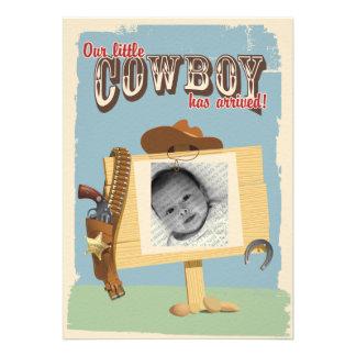 Faire-part de cowboy