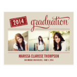 Faire-part de graduation d'obtention du diplôme d' cartes postales