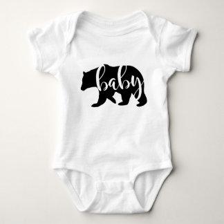 Faire-part de grossesse d'ours de bébé, nouveau body