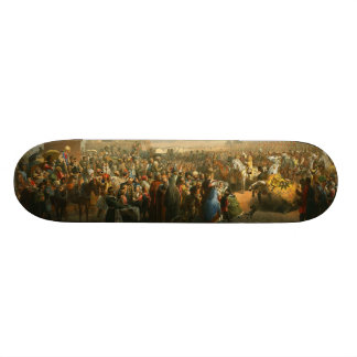 Faire-part de jour de couronnement par Vasily Timm Plateaux De Skateboards Customisés