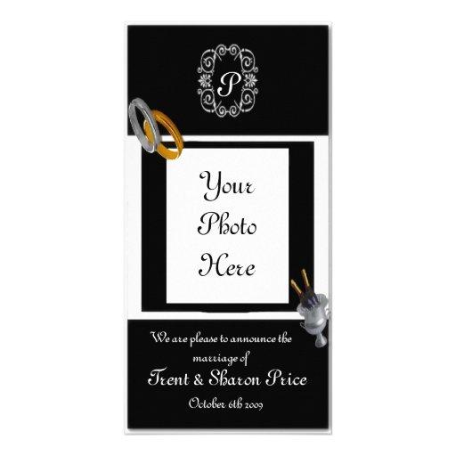 Faire-part de mariage cartes de vœux avec photo