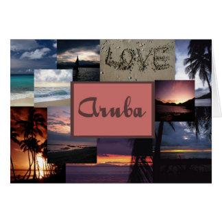 Faire-part de mariage d'Aruba