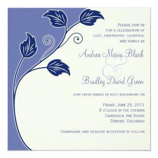 Faire-part de mariage de bigorneau et d'ivoire