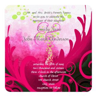 Faire-part de mariage de fleur de lis de Cala