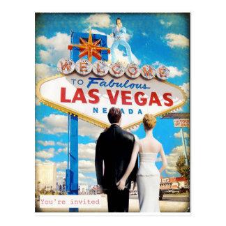 Faire-part de mariage de Las Vegas Cartes Postales