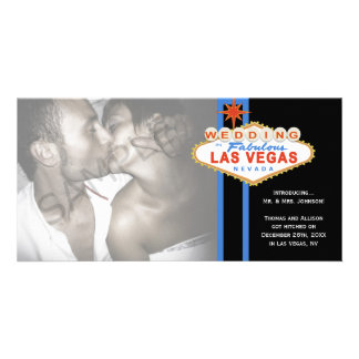 Faire-part de mariage de mariage de photo de signe photocarte personnalisée